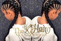 corn row hairstyles