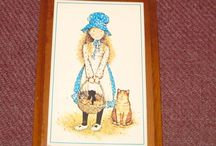 Holly Hobbie / Just one of my hundreds of Holly Hobbie items from my collection  http://hollyhobbiecollection.blogspot.ca
