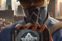 Watch dogs / I'm love Watch dogs 2. My favorite characters: Marcus, Wrench and other characters.