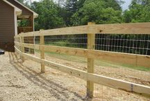 Fencing and pasture