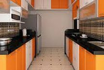 parallel-kitchen / Nivas parallel kitchen is perhaps the most efficient of all kitchens when it comes to primary use of the kitchen. An uncommon layout is the Galley or Parallel Kitchen layout