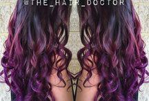 Vivid Hair / Vivid and vibrant hair color by Gina Bianca Hair