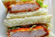 Japanese sandwiches/sando