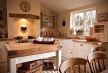 kuchyně na chalupě