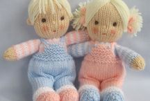 dolls - crochet and knit