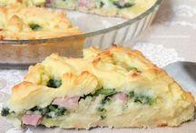 torte salate e insalate