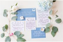 Wedding Invitations / Ideas to help you find the perfect invitation suite. Check out our blog for more inspiration at www.kevinandannablog.com