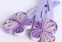 quilling hair accessories