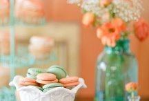 Gold Mint & Coral party inspiration