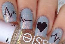 Valentine nails Idea