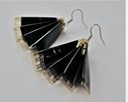 Recycled jewelry: earrings