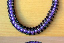 Handmade jewelry / Elegant, beaded handmade necklaces.