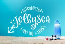 SUMMER & BEACH FONTS