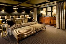 Home Theater Rooms / by Terri Faucett