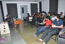 WWI Workshop with Supratik Sen / Mr. Supratik Sen , a writer hosted a Guest Lecture for the #WWIStudents (Junior Direction and Sophomores Screenwriting)