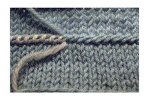 knit  joins, edges, cords