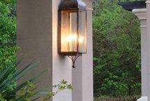 L - ext.  lanterns