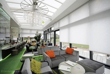 The World's Largest Duette® Blinds / Images and Video of the world's largest Duette® Blinds, installed in the Orangerie at Cannizaro House in Wimbledon by the Conservatory Blinds Limited Special Projects Team.