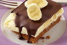 Cremige Bananenfüllung