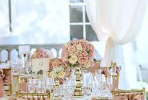 Hochzeit Rosa Creme