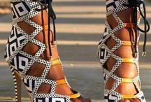 African print shoesssssssss