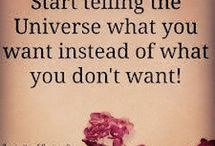 Law of Attraction / Manifesting