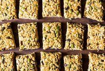 Eat Me: Snacks / Healthier snacks to make/grab / by Sarah Pierson