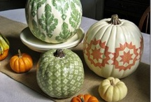 painted pumpkins / by Cindy Ligon