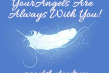 Angels / Angels are real! Tune into love and light from your guardian angels and the archangels and for healing, and so you can elevate your life experience.  #spirituality #insight #inspiration #angelic #angelicinspiration #angels #archangel