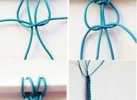 pulseras de hilo o cuerda