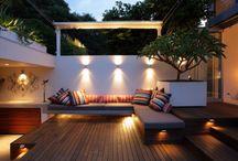 EXTERIORES, jardines y terrazas