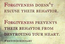 Forgive / Forgiveness/Grace