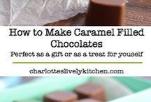 Caramel σοκολατάκια