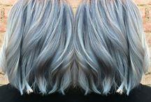 Metallics hair color