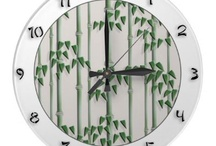 Beautiful wall clocks from Zazzle / by YANKA on the WEB
