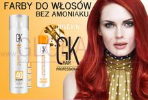 Bez amoniaku / GK hair Juvexin Farby do włosów bez amoniaku Global Keratin