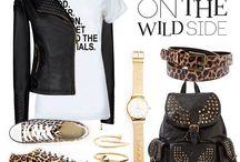 A Walk on THE Wildside..... / Kleding met safari printjes ....