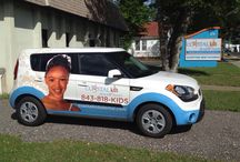 Flo'Ride - our cool Dental car / Pics of cool dental cars, ours Flo'Ride...and she has a personality all of her own!!
