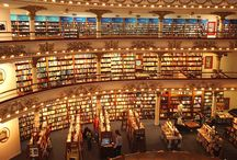 Bookstore Love / We love our own bookstores but we also have an undying love for bookstores all over the world.