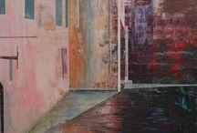 Kerri Pratt paintings at Tarpey Gallery / Artwork by Kerri Pratt