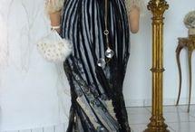 Historical dress-Edwardian era,  Belle Epoque / Historické oděvy z období  1890-1914