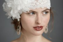 Pretty bridal headpieces / veils, birdcages, tiaras...etc.. everything for a bride's head!