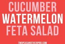 * saláty