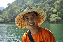 """Vietnam - The Land of Smiles / If you have a chance visiting Vietnam, immediately you will be strongly impressed by the friendliness and honesty of people there! Do not hesitate to say """"Xin chao"""" to response to their bringht smiles"""
