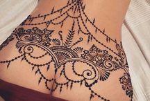 Tetování na zádech