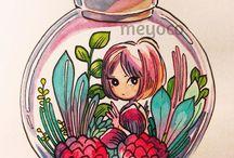 Ilustrações by meyoco