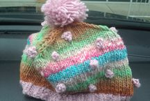 My Knitted Projects / Hand Made items created by me and for sale on Etsy.  Take a peak at Cooziesandmore !