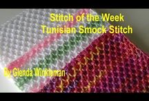 smock stitch tunisian crochet
