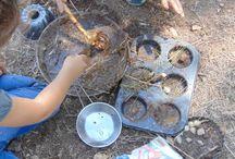 Reggio & Forest school inspired preschool