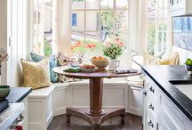 A breakfast nook